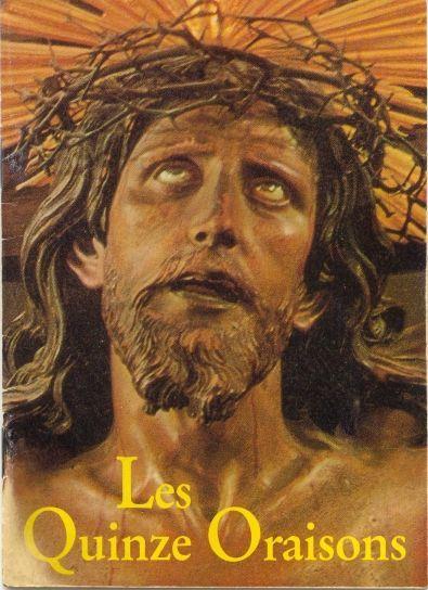 Les 15 Oraisons plus image Crucifix de Limpias.