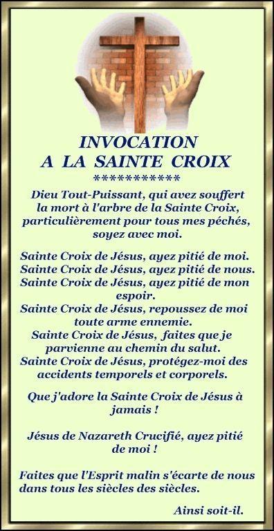 001-Invocation à la Sainte Croix....
