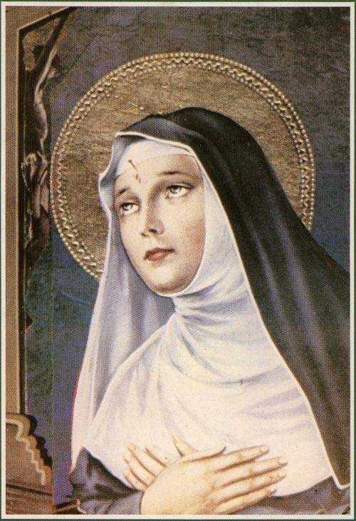 Extrêmement de Sainte Rita de Cascia, Sainte des causes désespérées. UD06